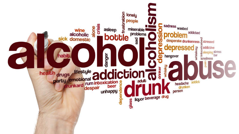 Alcoholic Word Cloud