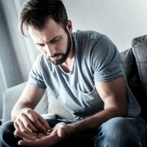 Man contemplates taking more pills