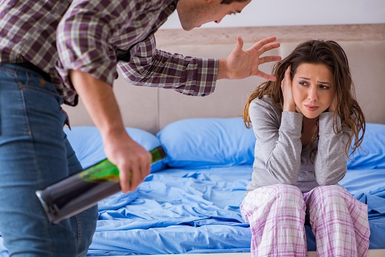 how to deal with an angry drunk spouse